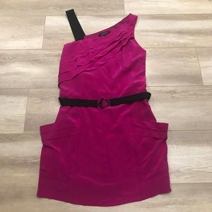 NANETTE LEPORE | 100% silk dress with pockets